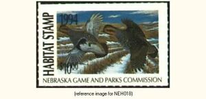 Nebraska Habitat 1994 $10.00 partridge *SALE*