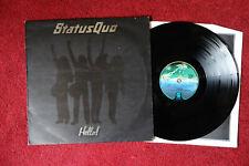 STATUS QUO - HELLO - 1973 UK PRESSING LP VINYL + INNER EXCELLENT