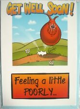 RETRO 80'S SPACE HOPPER GET WELL GREETING CARD