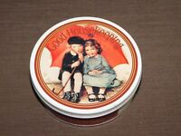 "VINTAGE KITCHEN 1991 5 3/4"" ACROSS GOOD HOUSEKEEPING  TIN CAN  *EMPTY*"