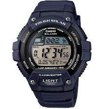 Casio W-S220-2AV Blue Solar Power Digital Watch with Box Included