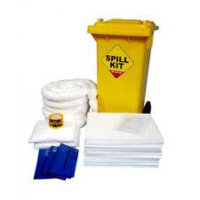 125L Oil & Fuel Spill Kit in Wheeled Bin - OSKS