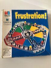 Rare MB Games Frustration Board Game (1996) Complete
