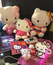 Hello Kitty Bundle Ty Plush Soft Hand Game Books Bags Small Toys Rattle