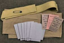 WORLD WAR 2  NEW REPLICA M1903A3 BANDOLEER REPACK KIT FOR 5 ROUND CLIPS