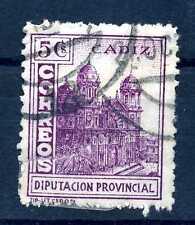 SPAIN - SPAGNA - 1936/1939  - Emissioni locali . CADICE. Consiglio provinciale