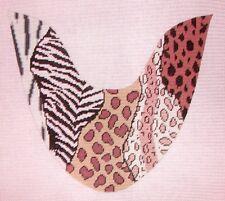 JG Jungle Sandal Slide Mule Pair Handpainted HP Needlepoint Shoe Canvases