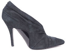 Alexander Wang Black Suede Pointy Asymmetric Maja Pumps Heels EU 36 US 5.5 $775