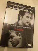 Dvd  EL DILEMA  con al pacino y russel crowe ( ganadora 7 oscars )
