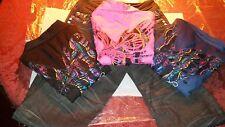 COOGI Australian 3 Blouses & Matching Denim Jean pants $415 LessThanRetailStores