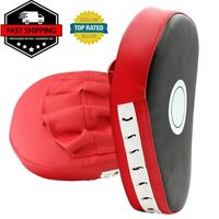 Boxing Focus Mitts Training Punch MMA Boxing Strike Curved pad Kick Muay Thai