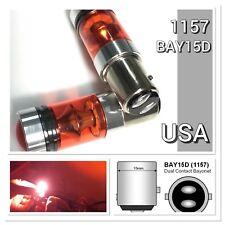 Brake Light 1157 2057 3496 7528 BAY15D CREE XBD CANBUS 20SMD LED Red K1 For HA