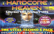 HARDCORE HEAVEN - 24TH FEBRUARY 1996 (TECHNO CD COLLECTION) DJ SCORPIO, CLARKEE