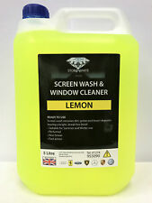 5L Lemon Screenwash Concentrated Car Windscreen Washer Fluid FREE DELIVERY