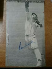 Rodney Marsh Australian Test Cricketer Signed Magazine Photo