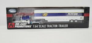 DCP PLYCON TRANSPORTATION KENWORTH #32992 1/64 SCALE DIE CAST PROMOTIONS
