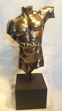 NEW Artistic Nude Male Torso On Plinth Statue Sculpture Figurine FAST SHIPPING