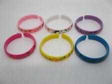 120Pcs Open Ended Bangles Bracelets for Kids Mixed