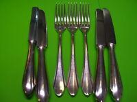 Besteck BSF 90er Silber 24 Teile 12 Personen Gabeln Messer