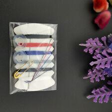 10pcs Mini Travel Kit Sewing Kit Buttons Needle Thread Pocket Size Pins Handy