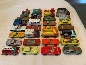 Playart Vintage Huge Diecast Collection Lot 32 Cars 1970s Porsche VW Corvette