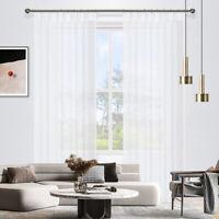 Clearance - Curtain Wonderland Blizzard Pinch Pleat Sheer Curtains
