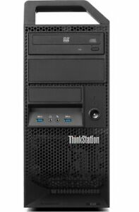 Lenovo E32 Workstation Intel Xeon Quad core E3-1245 V3 3.4GHz, DVD, Win10Pro