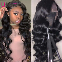 UNice Hair Brazilian Body Wave 13X6 Lace Front Human Hair Wigs For Women Full 8A