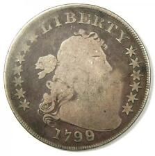 1799 Draped Bust Silver Dollar $1 Coin - Rare Early Type Coin!
