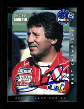 Mario andretti autografiada mapa original firmado fórmula 1 + a 127896