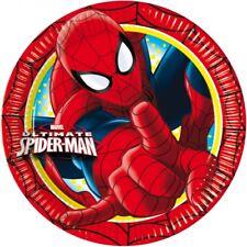 Piatti carta Spiderman Ultimate Cm. 23 - Confezione 8 pezzi