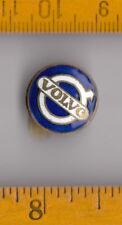 Vintage enamel VOLVO truck lorry buttonhole lapel badge pin Sweden Tractor Car