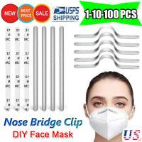 Aluminium Nose Bridge Strip Clip Wire for DIY Mask Handmade Crafting Face Covers