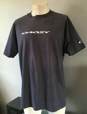 Navy Mens Oakley t shirt Size XL Pit To Pit 23 Inches