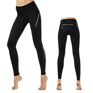 Pants Cycling Trousers Reflective Sports Bicycle Black Comfortable Ladies