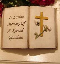 A Female Relation Graveside loving memory first anniversary Mum Wife Granny  F41