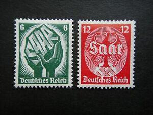 Germany Nazi 1934 Stamps MINT Third Reich Swastika German Eagle
