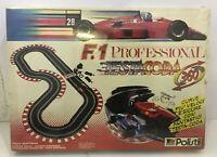pista POLISTIL f1 Professional TESTACODA Slot Car Sigillata Anni 90 TESTA CODA