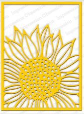 Sunflower Background Dieimpression Obsession(515yy)suitable for Most Die Cutters