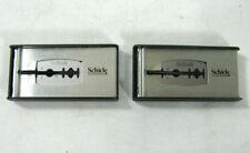 5 Vintage Schick Plus Platinum With Teflon Razor Blades NOS