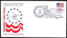 Usa 1976 Cover spatiale space viking mars [bc0013]