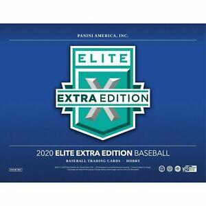 WASHINGTON NATIONALS 2020 ELITE EXTRA EDITION BASEBALL 1/4 CASE 5 BOX BREAK #4