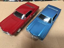 1:24 1970 Chevy Monte Carlo SS454 Blue & Red 2pc set by Saico without box