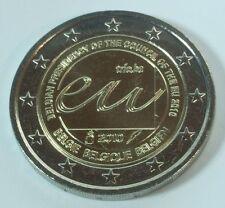 Bélgica 2 € euros conmemorativa 2010 ue-presidencia del Consejo unz. - BFR.
