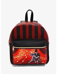 Black Butler Sebastian & Ciel striped mini backpack bag anime manga Square Enix