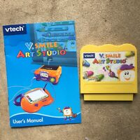 VTech V-Smile Game Cartridge - Art Studio - V-Tech VSmile Creative Educational