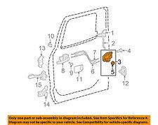TOYOTA OEM 07-16 Tundra Rear Door-Lock Actuator Motor 690600C060