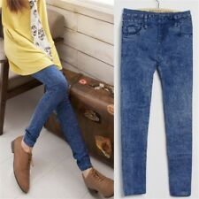 Women Sexy Skinny Jegging Stretchy Pants Leggings Imitation Jeans Pencil Trouser