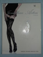 Lace Glamour Floral Hold Ups Hosiery & Socks for Women