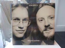AMERICA SILENT LETTER 1979 CLASSIC ROCK VINYL LP